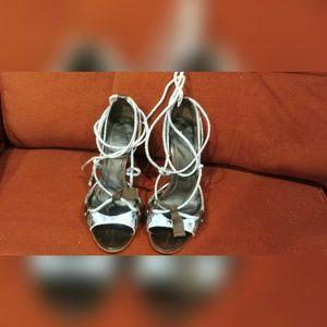 Givenchy gladiator heels.